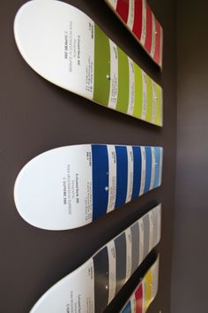 Skateboards Pantone  I think these are pretty cool.