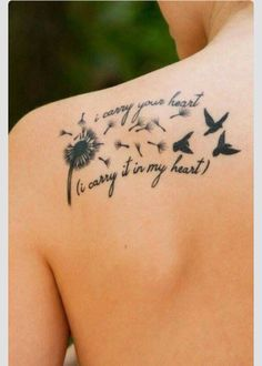 Getting this tattoo except butterflies instead of birds. 4 butterflies to represent my brother, uncle and my grandparents!