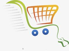 Cartoon version of supermarket shopping cart PNG and Clipart Shopping Cart Logo, Free Vector Images, Vector Free, Logo Online Shop, Mini Drawings, Clothing Logo, Interactive Design, Tech Logos, Logo Templates
