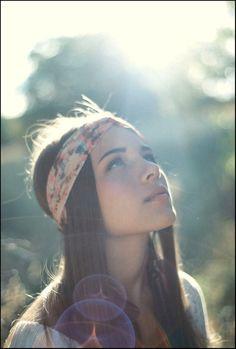 head scarfs, straight hair, head wraps, hippie, beauti, beauty blogs, headbands, sun flare, light