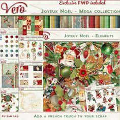 Digital Art :: Bundled Deals :: Joyeux Noel [Mega Collection + Exclusive FWP]