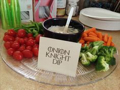 Game of Thrones party food