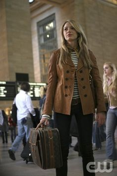 Nautical stripes - Blake Lively - Gossip Girl
