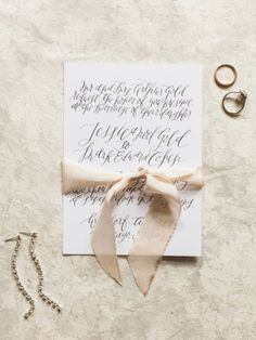Urban Crowns by Kate Weinstein Photo // Calligraphy by Layers of Loveliness