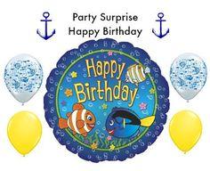Birthday Fish Balloon Kids Birthday Party by PartySurprise on Etsy