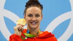 Katinka conquista terceiro ouro e quebra recorde olímpico nos 200m medley
