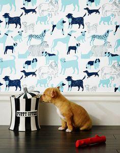 Julia Rothman Wallpaper for Hygge & West | Design*Sponge