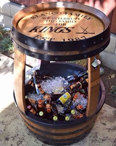 """Check out our web site for more relevant information on """"bar furniture ideas houses"""". It is a great place to read more. Wine Barrel Crafts, Wine Barrel Bar, Wine Barrel Table Diy, Bourbon Barrel, Bar Furniture For Sale, Furniture Ideas, Furniture Nyc, Modern Furniture, Furniture Design"""
