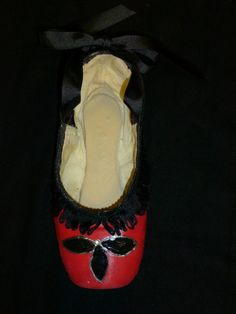 Decorative pointe shoe spanish nutcracker by PointePerfection1, $15.99