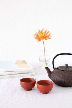 tea still life props