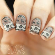 Warming Autumn Sweaters Are What This Nail Design Is Reminiscent Of Source