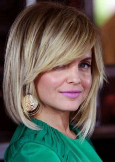 bob hairstyle for fine straight hair                                                                                                                                                     More