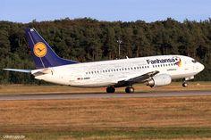 D-ABEK, Bild vom 31.08.2016 in Frankfurt, FRA, CN 25414, Boeing 737-300, Lufthansa
