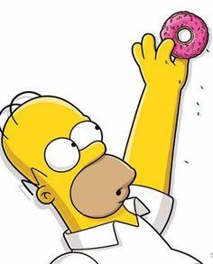 the simpsons donut Simpsons Donut, The Simpsons, Bolo Simpsons, Simpsons Party, Homer Simpson Donuts, Homer Donuts, Bart Simpson, Simpson Wallpaper Iphone, Disney Wallpaper