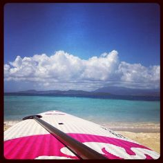 Paddleboarding at Palomino Island...not only do you get a workout but you also get to explore the ocean the Spanish Conquistadors once sailed.    El Conquistador Resort - Puerto Rico
