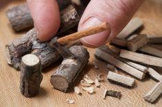 allthesmallthingsminiatures: Ax, handmade Wood& Stell tools miniature by Carlos Enrique Hermosilla