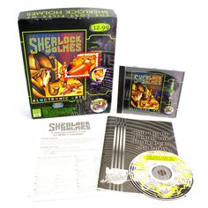 The Lost Files of Sherlock Holmes for PC by Mythos Software, 1992, Mystery