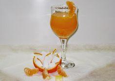 ΛΑΙΜΑΡΓΟΥΛΗΣ-ΣΥΝΤΑΓΕΣ: Σπιτική Μανταρινάδα Hurricane Glass, Wine Glass, Alcoholic Drinks, Tableware, Recipes, Food, Style, Swag, Dinnerware