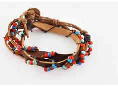 Bohemian Wrap Around Bracelet by Jes MaHarry