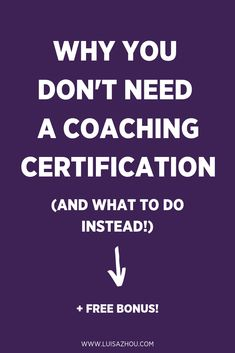 Why You DONT Need a Coaching Certification (Do This Instead!) - Business Plan - Ideas of Tips On Buying A House - Do you need a coaching certification to build a successful coaching business? The answer: No and heres why. Life Coaching Tools, Leadership Coaching, Leadership Development, Online Coaching, Personal Development, Leadership Quotes, Coaching Quotes, Leadership Qualities, Teamwork Quotes