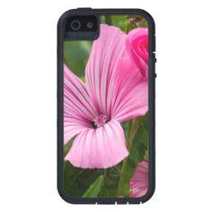 iPhone 5 Case Protecteur cellulaire fleur rose la rosée du matin