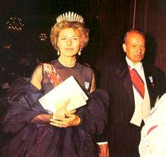 Prince Franz Joseph II and the glamorous Princess Gina of Liechtenstein.