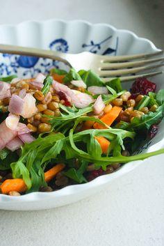 Wheat Berry Citrus Salad