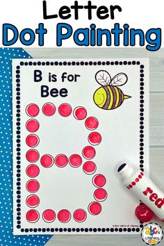 Letter Dot Painting Worksheets are a fun way for your students to practice recognizing capital and lowercase letters. Bingo dauber activities also help children develop their hand and eye coordination and hand control. These no-prep, do-a-dot worksheets can be used as an easy literacy center or as an independent activity for early finishers. This alphabet activity is the perfect addition to your Letter of the Week units too. Click on the picture to learn more! #letterdotpainting #doadotletters Letter Worksheets For Preschool, Preschool Literacy, Emergent Literacy, Literacy Games, Kindergarten Readiness, Literacy Centers, Preschool Ideas, Alphabet Bingo, Learning The Alphabet
