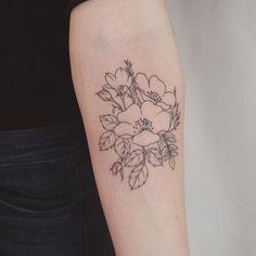 Wildflower bundle - Tattoo People Toronto - Jess Chen