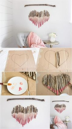 How to Make an Interesting Art Piece Using Tree Branches DIY Fun fun and easy diy crafts to do at home - Fun Diy Crafts Diy Wand, Fun Diy Crafts, Decor Crafts, Baby Crafts, Kids Crafts, Stick Crafts, Fun Crafts For Teens, Diy Baby Gifts, Diy Gifts For Kids