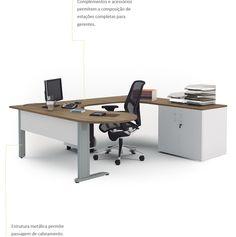Linha Ethos - ambiente gerência e staff | Bortolini