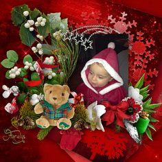 "Kit ""Angelic Christmas"" Photo perso"