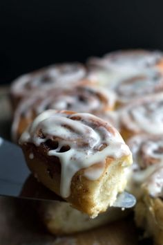 Quick Rise Cinnamon Rolls - Erren's Kitchen - With this recipe, the dough rises in the microwave like magic! Perfect for breakfast, brunch or dessert.