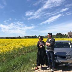 いいね!3,344件、コメント27件 ― 桐島かれんさん(@houseoflotuskaren)のInstagramアカウント: 「ドライブ道中、菜の花畑が続きます。 #バルト三国 #リトアニア」