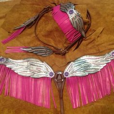 Would be even prettier with turquoise fringe
