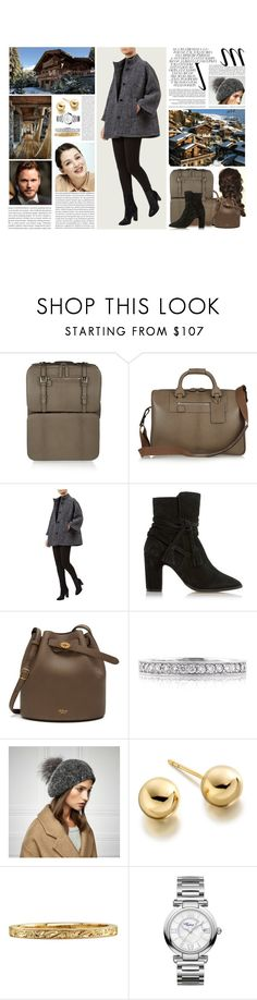 """""""Untitled #3163"""" by duchessq ❤ liked on Polyvore featuring Whiteley, Moncrief, Fenn Wright Manson, Mulberry, Mark Broumand, Astley Clarke and Chopard"""