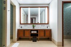 More than just a piece of decor to check your appearance, mirrors can really open up a tight space or bring more light into a small room. Mirror Cabinets, Small Spaces, Installing Cabinets, Bathroom Decor, Kitchen Remodeling Companies, Bathroom Mirror, Bathroom Mirror Frame, Mirror, Bathroom