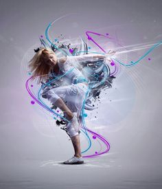 25 Creative Photoshop Sparkling Effects and Photo manipulation works for your inspiration Cool Photoshop, Creative Photoshop, Photoshop Tutorial, Photoshop Actions, Photoshop Photography, Dance Photography, Photography Tips, Dance Poses, Street Dance