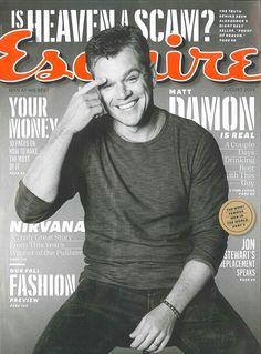 Matt Damon is real, say Esquire magazine