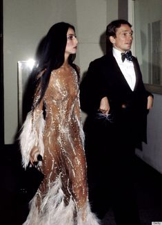 #TBT Cher Met Gala with Bob Mackie in 1974. The lesson here? Know who you are and then go with it--always.