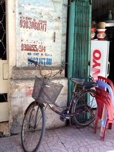 Collage of Life: bicycle love...Ho Chi Minh City, Vietnam Photo: Jeanne Henriques