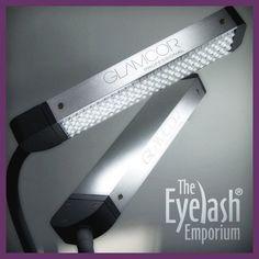 Glamcor Classic Elite 2 LED Eyelash Extension Lamp | Eyelash ...