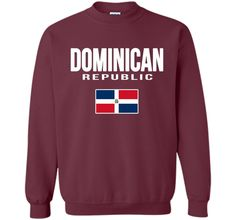 DOMINICAN REPUBLIC T-shirt Dominican Flag Tee