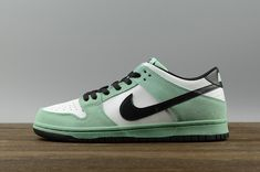 wholesale dealer 2b115 81c12 Discount Nike Dunk Low Pro Iw Sea Crystal Mens Sneakers 819674-301 Green  Glow Black Noir-Summit White blanc Youth Big Boys Shoes