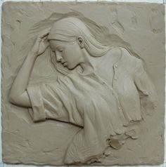 relief sculpture titled Dusk by Sutton Betti