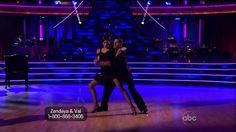 Zendaya Coleman & Val Chmerkovskiy w/ Maksim & Anna - Argentine Tango - ...
