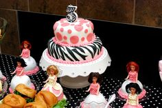 Fussy Monkey Business: Barbie Birthday Party Decorations-Part 2