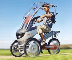 Eco Factor: Electric trike with a built-in pedal mechanism.  Researchers all over the planet know that electricity is the next-gen fuel. Automobile manufacturers are now concentrating on vehicles which make the most of this green power source....