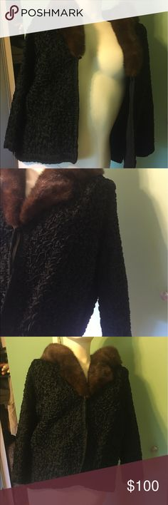 Short dressy evening jacket Short dressy jacket with fur to use over a gown or fancy dress. Combination of embroidery and fur makes this jacket stand out Jackets & Coats