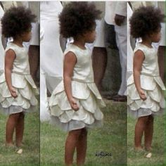 Blue Ivy  At Solange's Wedding In New Orleans 16.11.2014
